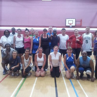 2013_Mixed Netball Training Session